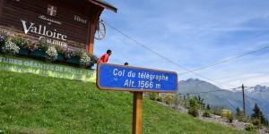 Später folgt der Col du Télégraphe