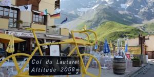 Schild am Col du Lautaret
