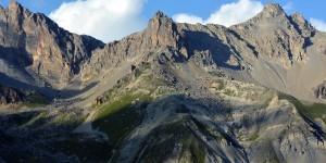 Mächtige Alpen in Frankreich