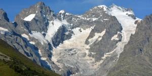 Gletscher im Nationalpark des Écrins