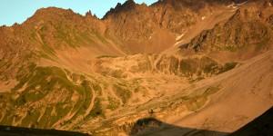 Alpenglühen in Frankreich