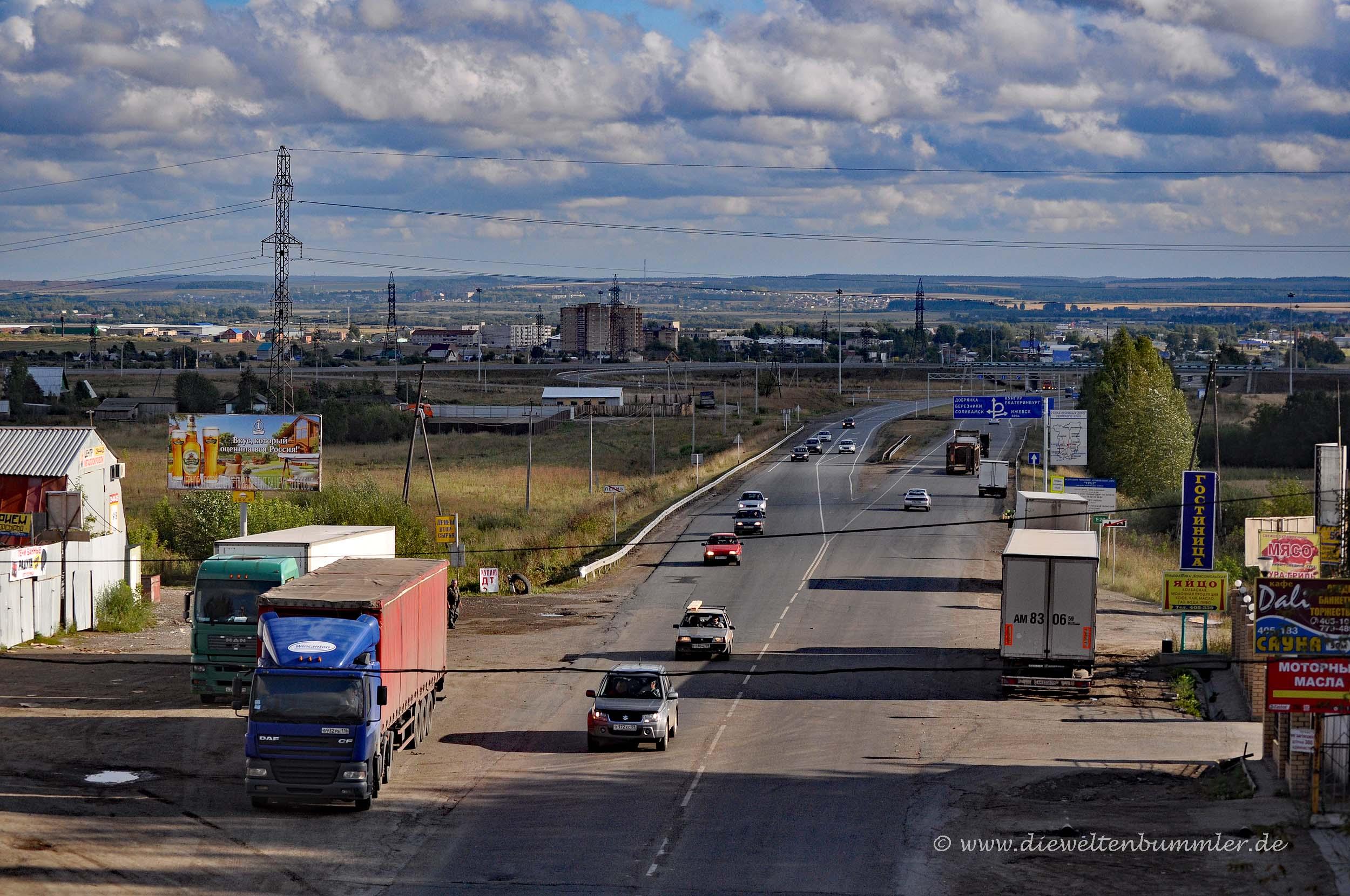 Die russischen Weiten bei Nischni Nowgorod
