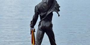 Freddy Mercury am Genfer See