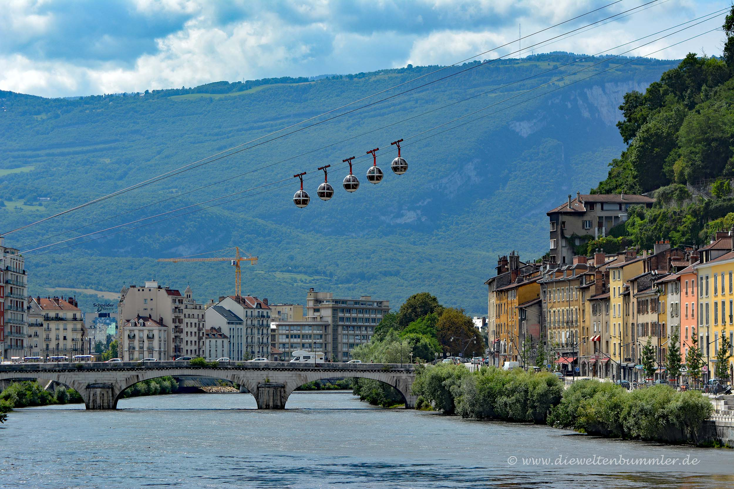 Grenoble ist Partnerstadt von Essen