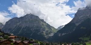 Landschaft bei Grindelwald