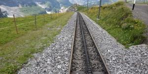 Trasse der Jungfraubahn