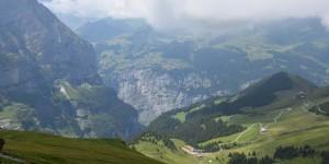Landschaft am Eiger