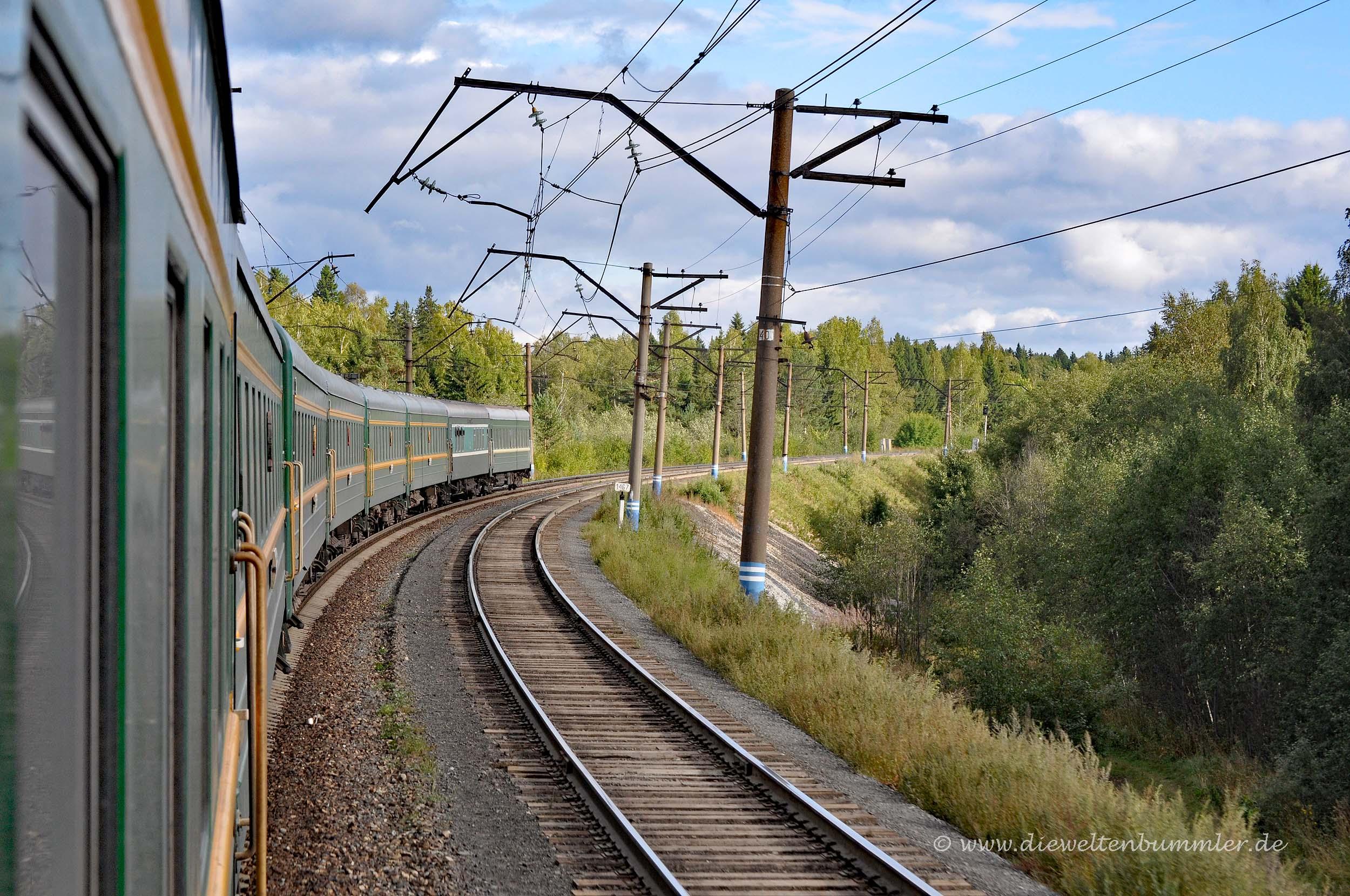 Mit der Transsib durch Nischni Nowgorod
