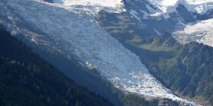 Gletscher am Mont Blanc
