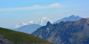 Fernsicht zum höchsten Berg Europas