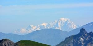 Die Südseite vom Mont Blanc
