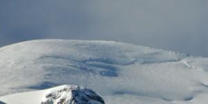 Bergsteiger am Mont Blanc