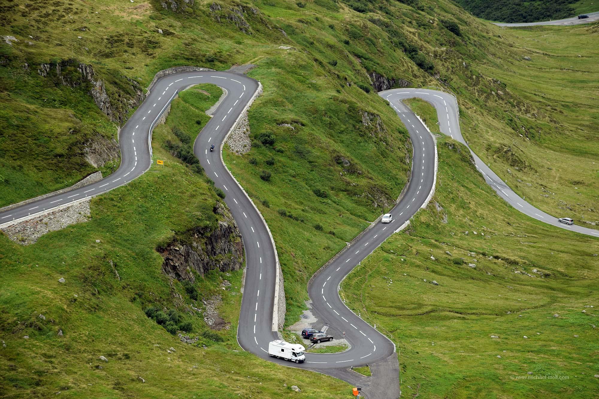Passtraße zum Oberalppass
