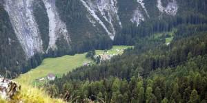Campingplatz Trafoi von oben