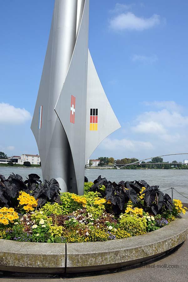 Dreiländereck Frankreich-Schweiz-Deutschland