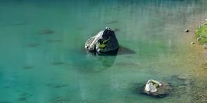 See auf der Passhöhe