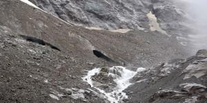 Der Steingletscher ist schwer zu erkennen