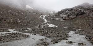 Steingletscher von weiter weg