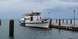 Ausflugsschiff auf dem Gardasee