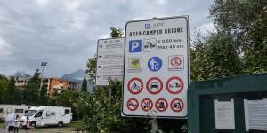 Wohnmobilstellplatz am Gardasee