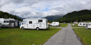 Camping in St Moritz