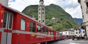 Bernina-Express in Tirano