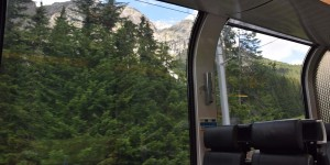 Panoramawagen vom Bernina-Express