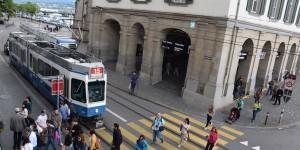 Straßenbahn in Zürich