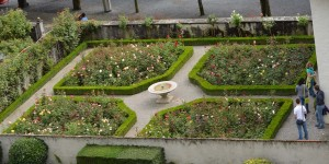 Schlossgarten in Rapperswil