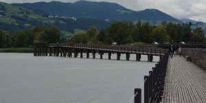 Holzsteg in Rapperswil