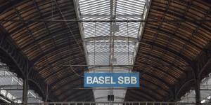 Bahnhof in Basel