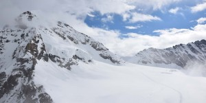 Ausblick vom Jungfraujoch