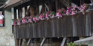 Holzbrücke in Fribourg