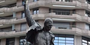 Freddy Mercury Skulptur