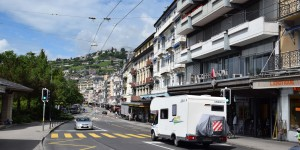 Wohnmobil in Montreux