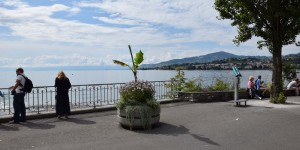 Promenade in Montreux