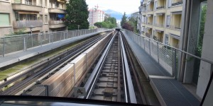 U-Bahn in Lausanne