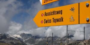 Wanderweg am Gornergrat