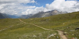 Wanderweg am Matterhorn