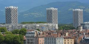 Blick über Grenoble