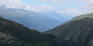 Landschaft am Furkapass