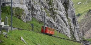 die steilste Zahnradbahn der Welt