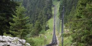 Trasse der Pilatusbahn