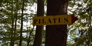 Auf dem Weg zum Pilatus
