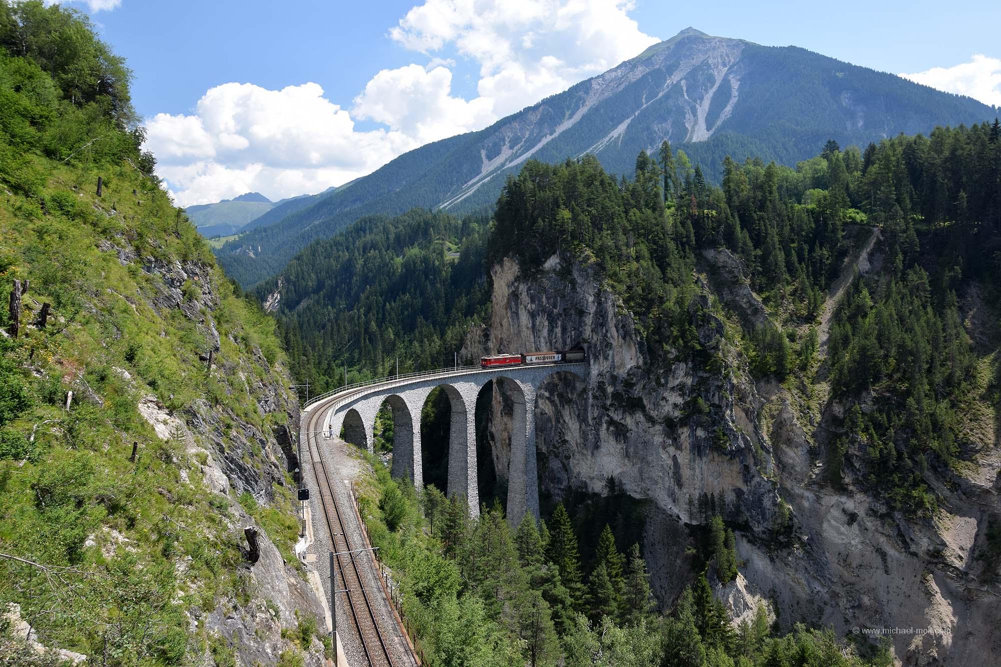 Die Brücke bei Filisur