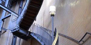 Treppen im Alten Elbtunnel