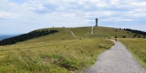 Wanderweg zum Feldberg
