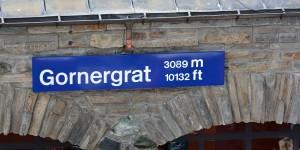 Bergstation der Gornergratbahn
