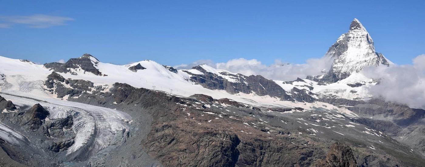 Matterhorn mit Theodulgletscher