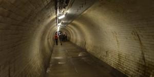 Fast 400 Meter langer Tunnel